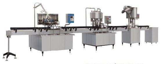食用油灌装机生产线的分类及组成
