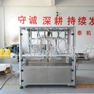 旋转型液体灌装机