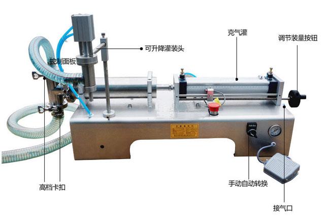 小型bsb气动定量灌装机