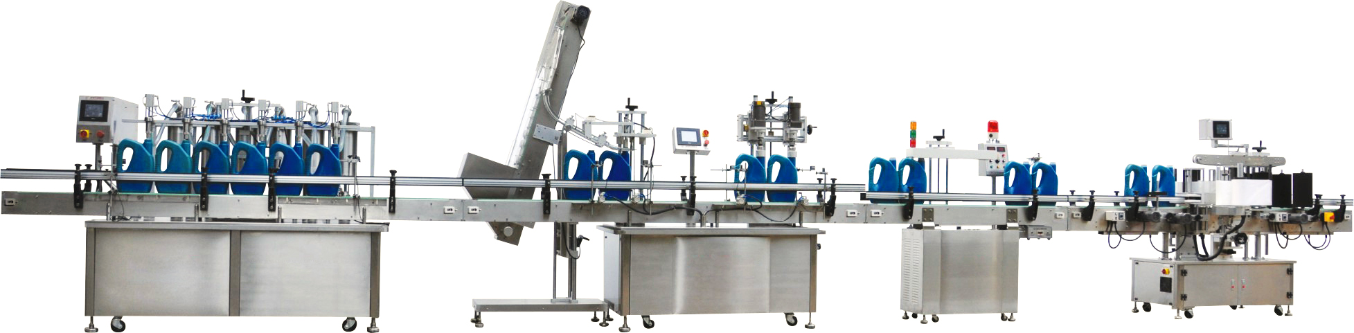 半自动润滑油灌装机-润滑油脂灌装机